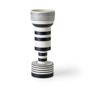 Ettore_Sottsass_vase handcrafted clay