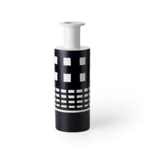 Ettore_Sottsass_vase_2 handcrafted clay vase